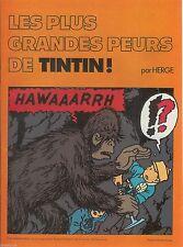 Hergé - Les Plus grandes peurs de Tintin - Chevron Pub