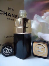 CHANEL No5 PARFUM 1/4oz 7ml VINTAGE 1970s NEW PURSE FLACON BUT DISCOLOURED BOX