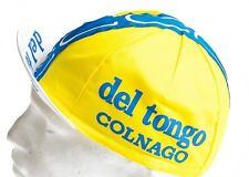 Classic Del Tongo colnago Cycling cap, Italian made Retro fixie.
