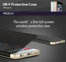 iPhone 6/s Plus Note 5 S7 S6 Edge Transparent Smart Window Case by ROCK FREE SP