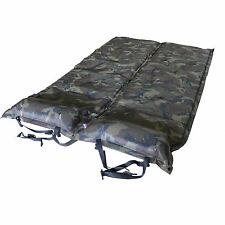 2 x Self-Inflating Mattresses Camping Hiking Sleeping Pads w/ Pillows Camouflage