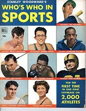 1950 Who's Who in Sports Baseball magazine, Ted Williams, Boston Red Sox ~ Gd