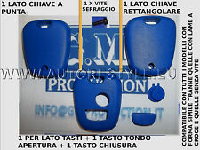 COVER CASE SHELL BLUE FOR KEY REMOTE CONTROL 2 BUTTON PEUGEOT 206 107 207 307