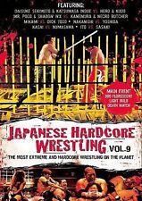Japanese Hardcore Wrestling, Vol. 9, New DVD, Daisuke Sekimoto, Katsumasa Inoue,