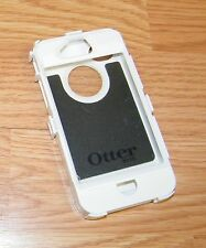 OtterBox Defender Series White Plastic Fitted Case Only For iPhone 4 **READ**