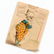 Antikamnia 1900 Calendar #5 Deco Magnet, Antique Illustration Skeleton Fridge
