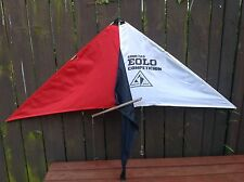 """Vintage 1980's Eolo Cometos Competition Stunt Kite 60""""x35""""x21"""""""