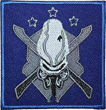 """Halo Legendary EMBROIDERED PATCH Badge Iron on & Sew On 3.5"""" 2016 Design"""