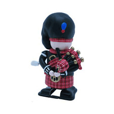 Wind-Up Scottish Piper, Comical, Fun For Children And Adults Alike! Bagpipes