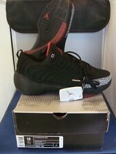 Nike Jordan Retro 19 Low Black/Siver/Varsity Red Size 10 NICE Lightly Worn