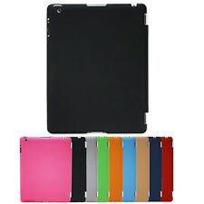 Black iPad 3 4th Generation UltraThin 1.2mm Smart Cover Workable Hard Back Case