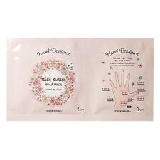 [ETUDE HOUSE]  Hand Bouquet Rich Butter Hand Mask / Korean Cosmetics