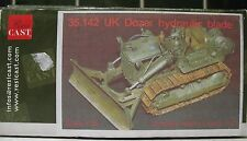 1/35 Resicast UK Dozer Hydraulic Blade  Bulldozer Resin Kit