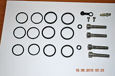 KAWASAKI ZX12R ZX9R ZX6R TOKICO 6 pot Front Caliper Seal Kit Seals Set REFURB