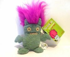 Bad Hair Day Ice Bat Pink Hair - Ugly Doll Keyring BNWT New