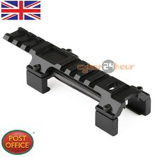 MP5/G3 20mm Top Rail Claw Mount Low Scope Weaver Base