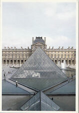 BF14311 musee du louvre paris pyramide et pyramidion  france front/back image