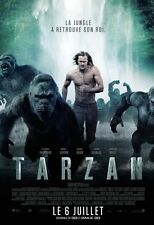 Affiche 40x60cm TARZAN /THE LEGEND OF… 2016 Alexander Skarsgård BE