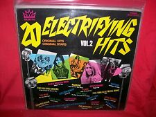 20 Electrifying Hits Vol. 2 Various LP 1971 AUSTRALIA The Who Olivia Newton John