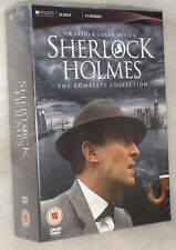 Sherlock Holmes Jeremy Brett 16 DVD Box Set Complete UK BRAND NEW & SEALED