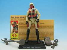 "GI Joe 25th Anniversary Cobra Trooper (v9) Desert Assault Squad 3.75"" Action Fig"
