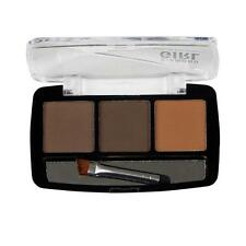 Beautiful 3 Color Eyebrow Powder Palette Waterproof Natural 3D With Brush UK