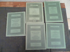 LOT DE 5 CATALOGUES VENTES AUX ENCHERES SOTHEBY S PAINTINGS AND SCULPTURE