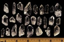 Arkansas Crystal Quartz - Small Points from Avatar Crystal Mine - 50 Pieces