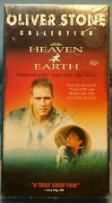 """FACTORY SEALED! """"Heaven and Earth"""" (1994, VHS) TOMMY LEE JONES"""