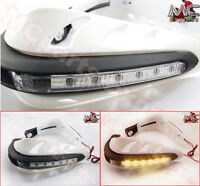 Motorcycle LED Universal Hand Guards for BMW S1000RR S1000R K1600-White