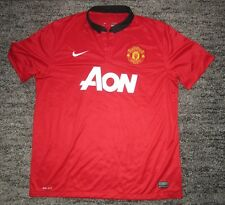Rare Manchester United 2013 2014 Home Shirt Jersey Adult XL