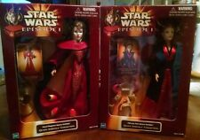 Star Wars Queen Amidala Collection set 2 dolls NRFB Ultimate Hair Royal Elegance