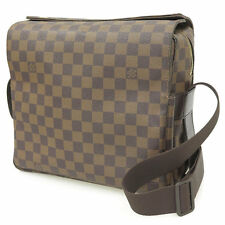 LOUIS VUITTON Shoulder Bag Damier Naviglio Ebene N45255 Men's Authentic 3526439