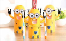 Tooth Brush Holder Minions Auto Toothpaste Squeezer Dispenser Kids       2017