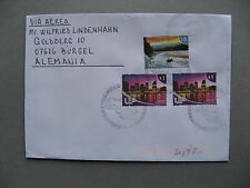 ARGENTINA, cover to Germany 2010, spec canc