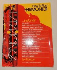 How to Play Harmonica by Marcos (1986, Paperback) also Repairs Tuning Soaking