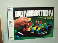 Domination game 1982 Milton Bradley COMPLETE game of Strategy & Supremacy