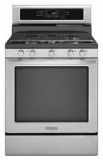 """KitchenAid KGRS202BSS Freestanding 30"""" Gas Range Convection Stainless NEW DEAL!"""