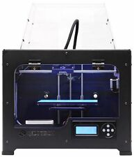 QIDI TECHNOLOGY 3d printer metal body with dual extruder printing