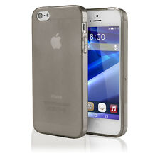 IPhone 5/5s tpu case cover coque en silicone housse/pochette de protection transparent mat