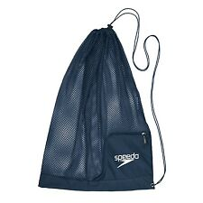 Speedo Swim Ventilator Mesh Equipment Water Sports Gear Swimming Bag, Navy Blue