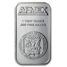 1 oz APMEX Silver Bar - SKU #27086