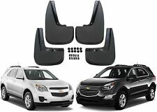 4pc Front & Rear Molded Mud Flaps For 2010-2016 Chevrolet Equinox New Free Ship