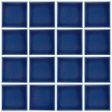 10 SF 3x3 Glossy Navy Blue Tile for Countertop Backsplash Pool Kitchen Bathroom