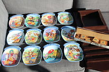 Winnie The Pooh Disney Bradford Exchange Plate Calendar Perpetual Wood Limited