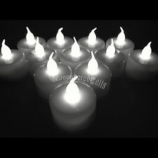Color Flameless LED Tealight Tea Candles Wedding Light Battery Operated LOT