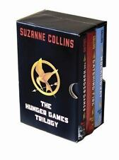 THE HUNGER GAMES TRILOGY {SLIPCASE~HARDCOVER w/ DJs~FIRST EDITION~LIKE NEW}**