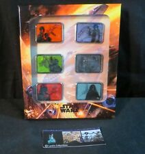 Disney Parks Authentic Star Wars Weekends 2014 space ship 6 pin set