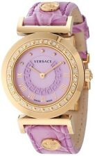 Versace Women's P5Q81D702 S702 Vanitas DIAMONDS Rose Gold Ion-Plated Watch