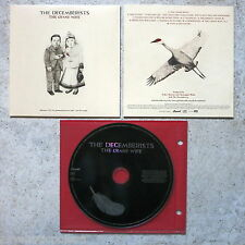 DECEMBERISTS - The Crane Wife Advanced Promo CD Capitol ‎– DPRO 0946 3 79289 2 9